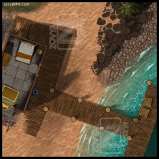 Fishing Shack [D] Open +Grid