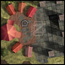 Old Ruins Camp [B] +Grid