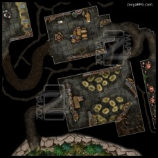 (Map Pack) Kobold Warrens